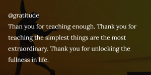 @gratitude