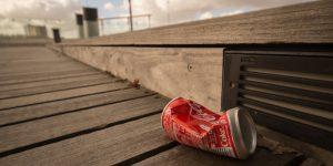 Pick up litter in your neighborhood