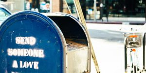 Thank your mail carrier! Wait a minute Mr. Postman