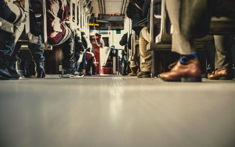 Offer Your Seat on a Crowded Bus or Train for Those in Need