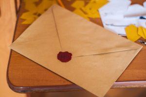 Send a handwritten note via snail mail