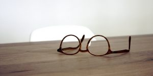 Donate your old eyeglasses