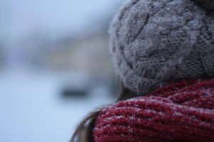 Donate hats, gloves and scarves to a homeless shelter