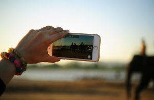 Record a video message for a far away friend