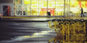 Bring your shopping cart back from the parking lot