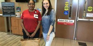Happy Orange Project Donates Used Magazines to Local ER