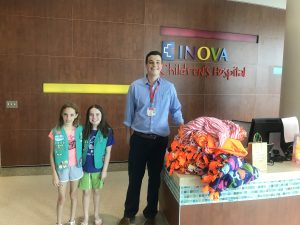 Happy Orange and Girl Scouts Join Forces