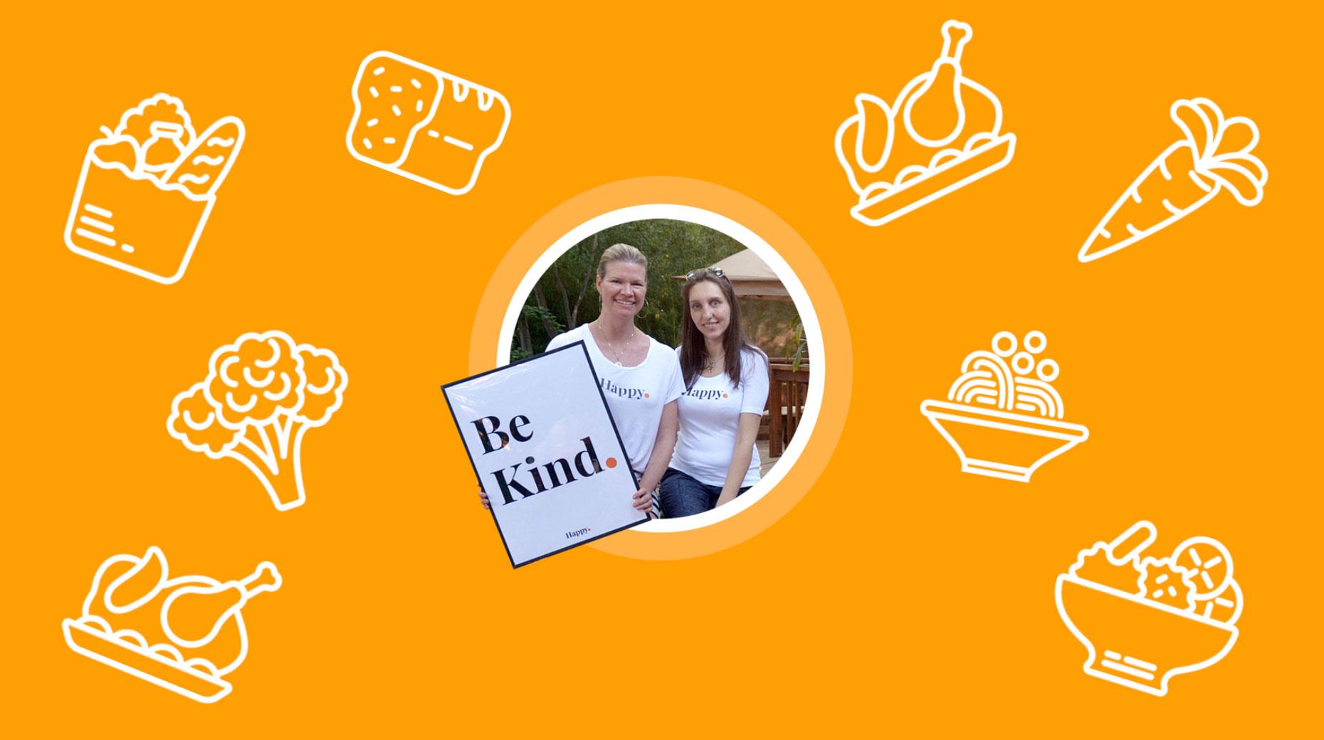 Founders of Happy Orange Project